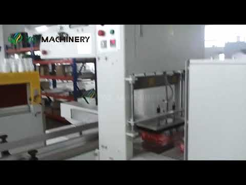 PE Film Shrink Wrapping Machine For Beer Wine And Beverages Bottle Packaging Equipment