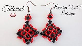 Crystal Evening Earrings - Tutorial