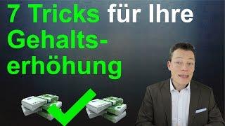 Gehalt verhandeln: 7 Tricks für Ihre Gehaltsverhandlung & Gehaltserhöhung  // M. Wehrle