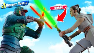 LIGHTSABERS in FORTNITE!