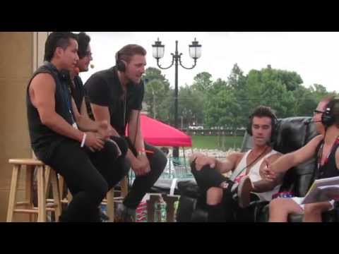 American Authors interview- Red Hot and Boom 2014- Orlando, FL