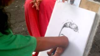 The Art for Live (Physically Handicapped Drawing )    07022014042