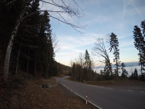 Driving through Switzerland