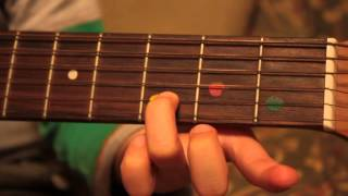 First introduction to classical guitar for children - part 02c