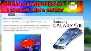Instalando a Rom oficial no Samsung GT-I9300 (Galaxy SIII / S3) Android 4.3 Jelly Bean