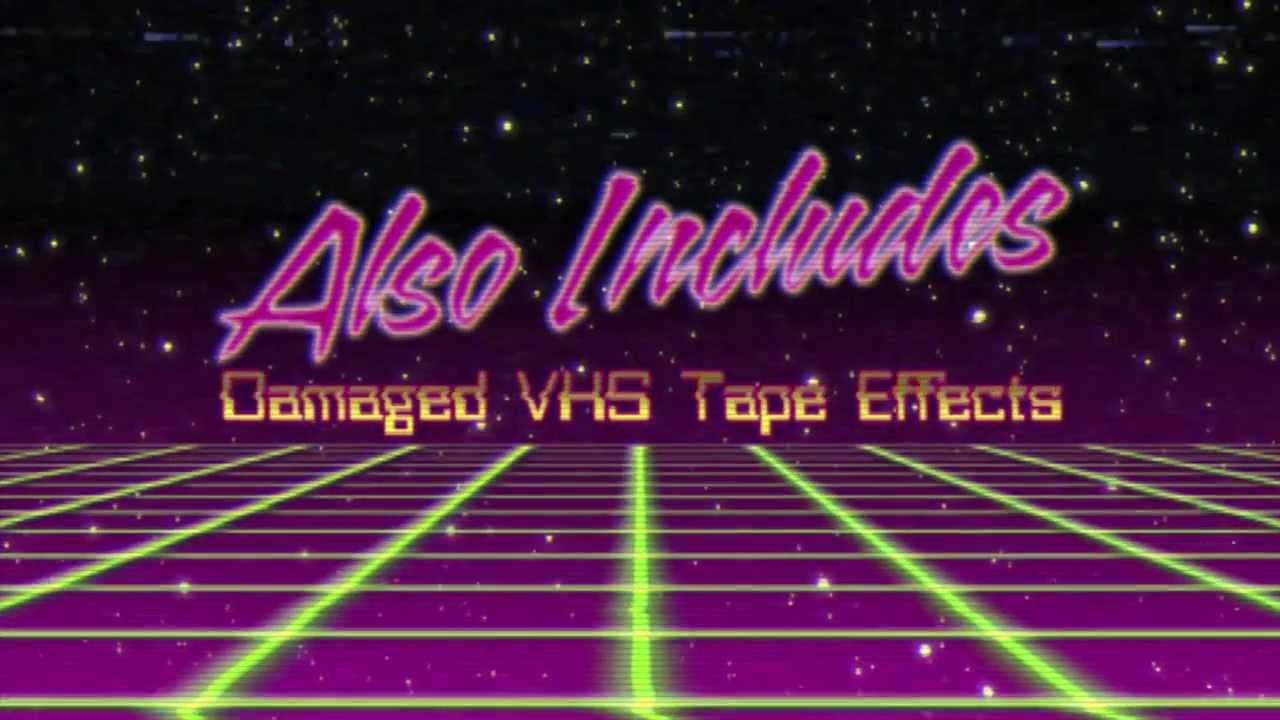 maxresdefault 80s title intros after effects template youtube