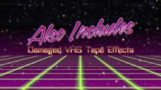 80s Title Intros - After Effects Template