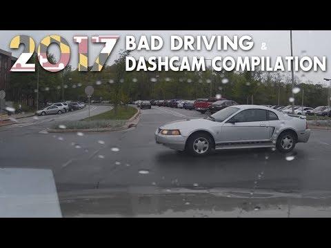 2017 Maryland Bad Driving Dashcam Compilation: Part I