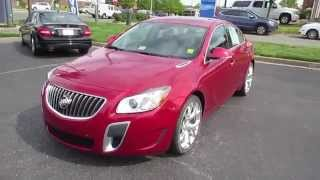 2013 Buick Regal GS Walkaround, Start up, Exhaust, Tour and Overview