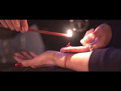 Обряд Красная Нитка на запястье.Как правильно завязать красную нить.