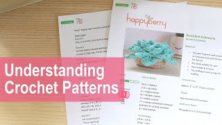 In this video I teach you how to read my crochet patterns, other crochet patterns by other designers will differ, but hopefully it will help more visual learners to ...