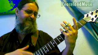 Peaceland Guitar Ring® Demo - Sustain