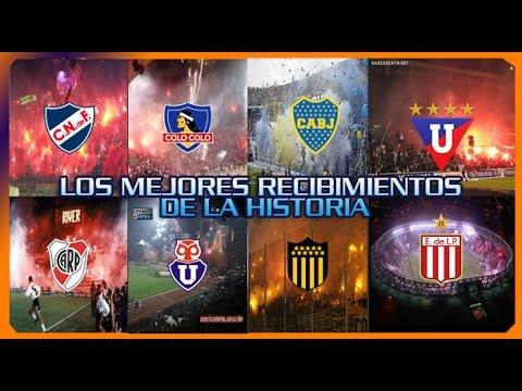 Los mejores recibimientos de equipos de Sudamérica