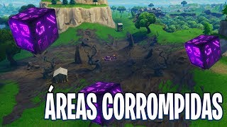 VISITE TODAS AS ÁREAS CORROMPIDAS - Fortnite Battle Royale