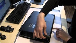 Acer Aspire E 17 ES1-711 Notebook Series RAM HDD SSD BIOS Battery disassembly Tutorial Aufrüstung