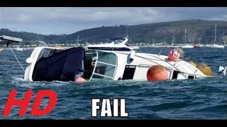 Foutjes met gevolgen in The Ultimate Boat Fails 2015