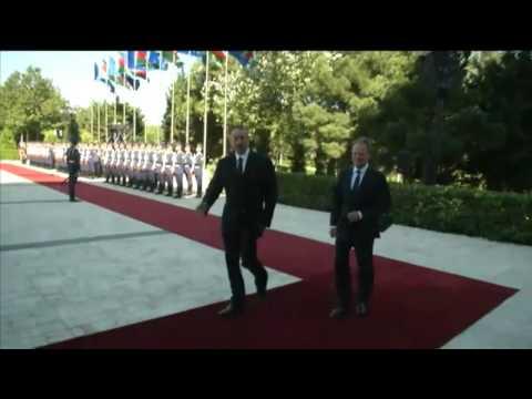 Azerbaijan: European Council President Donald Tusk visit