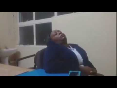 Zimbabwe Rude Nurses  Prove Amai Mnangagwa is Not Changing anything with her Hospital Visits, Its Ju