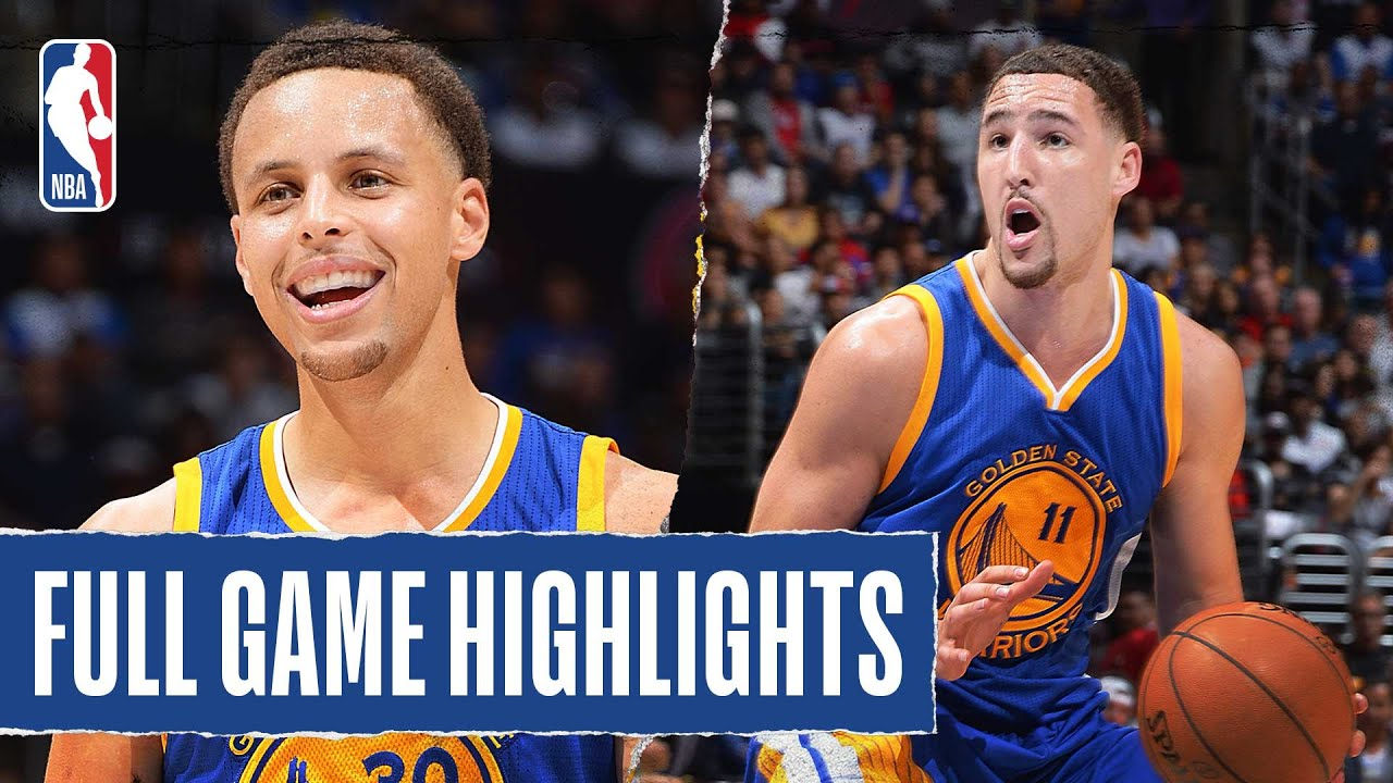 Splash Bros Acquire Their Stroke, CP3 & Blake SHOW OUT In Thriller - NBA thumbnail