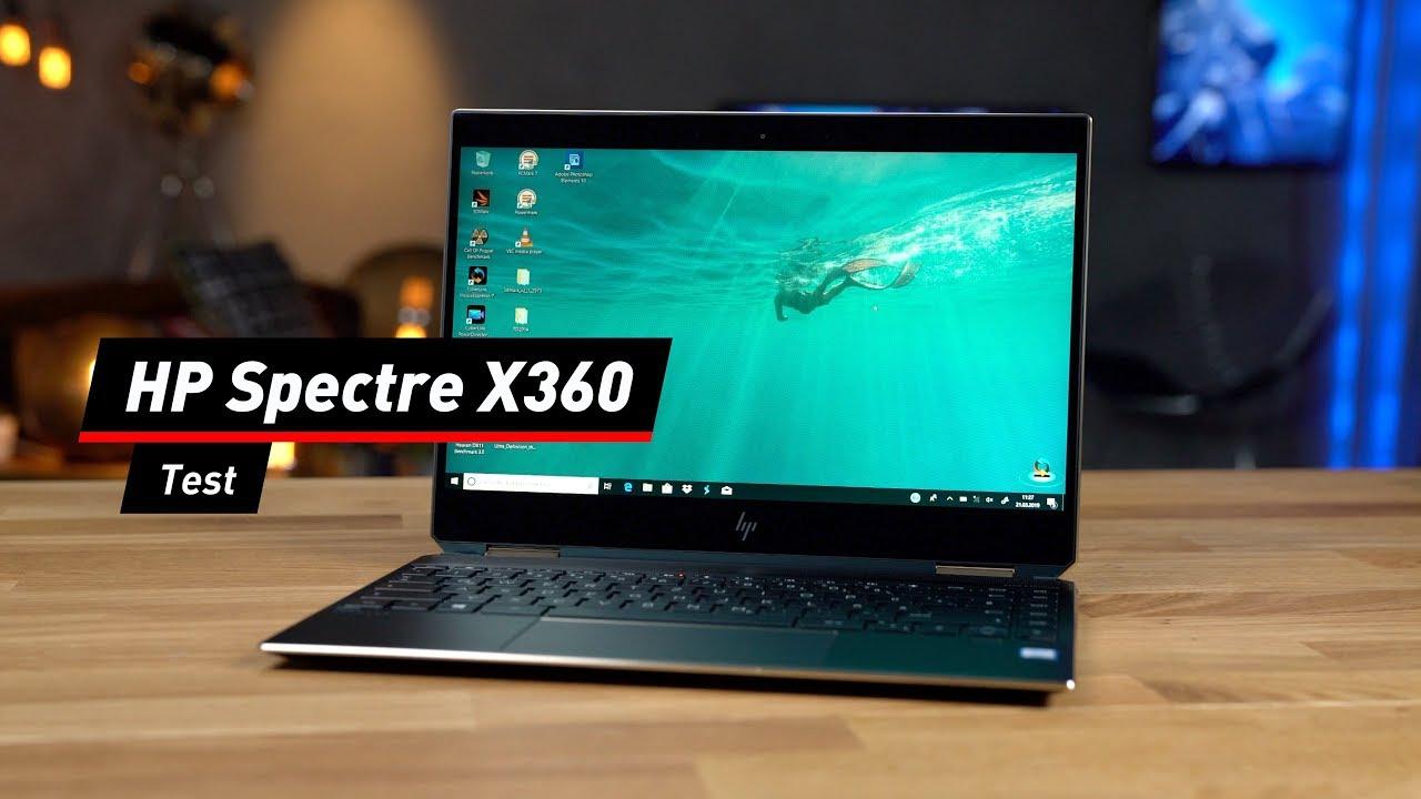 HP Spectre X360: Schickes Convertible im Test!
