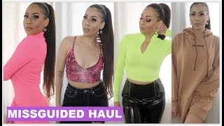 HUGE SPRING MISSGUIDED TRY ON HAUL