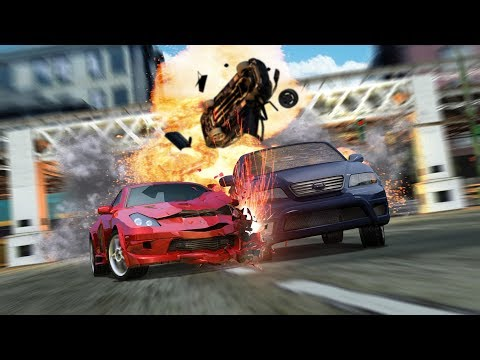 ¡Dueño de la velocidad! Burnout 3 Takedown