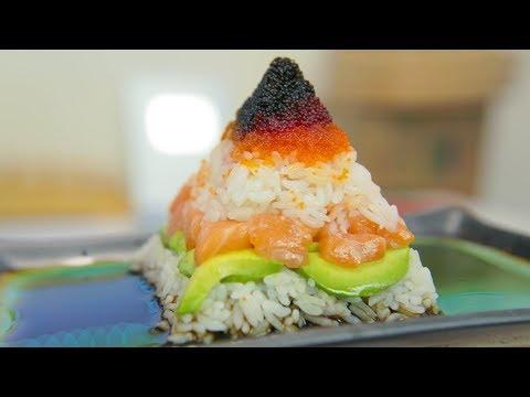 Pyramid Sushi!!! YUM!