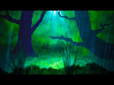 Rain Sounds in Forest | White Noise Sleep or Study Aid | Rainstorm 10 Hours