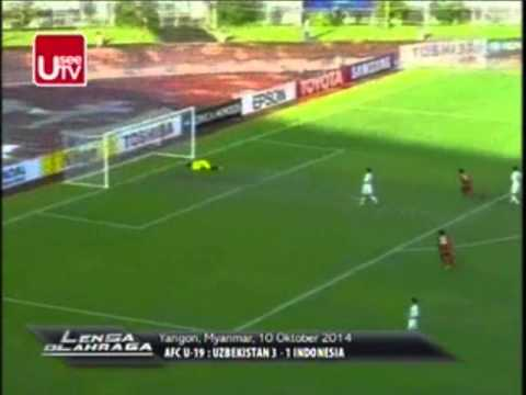 Highlight Timnas U19 Vs Uzbekistan (1-3) Piala Asia 2014 ...
