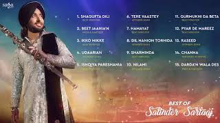 The best of Satinder Sartaj | new playlistforyou | 2020 | jukebox
