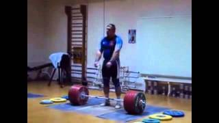 Dmitriy Lapikov 215kg Snatch + 251 Clean and Jerk