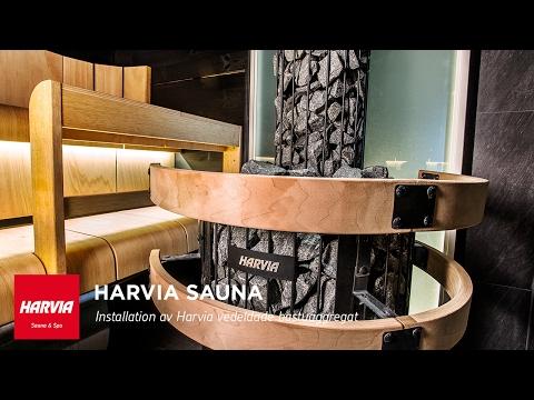 HARVIA SKOLA - Hur man installerar en vedeldad bastuugn