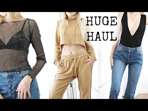HUGE 2017 TRY ON CLOTHING HAUL / Nasty Gal, Dolls Kill, Subdued