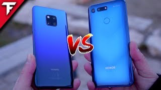 Honor View20 vs. Huawei Mate20 PRO | TechFloyd