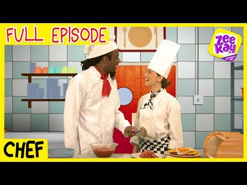 Let's Play: Chefs | FULL EPISODE | ZeeKay Junior