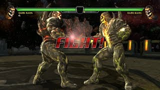 MK VS DC Universe Playing as Dark Kahn on RPCS3