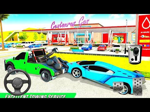 Gas Station Car Driving Simulator Car Parking Game - Android Gameplay