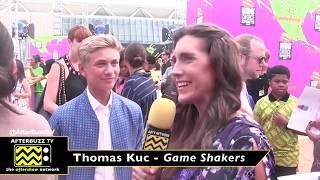 Kids Choice Sports Awards interview with Thomas Kuc