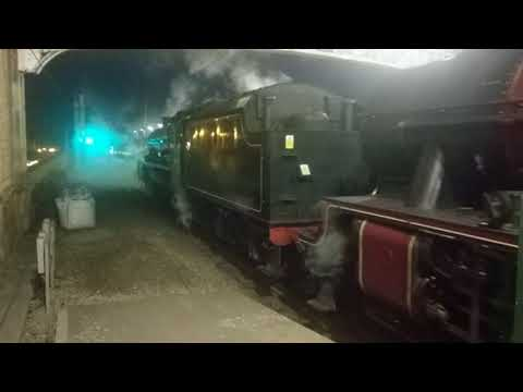 Great Britain Railtour - 45690 'Leander' & 45699 'Galatea' departing Edinburgh Waverley