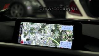 BMW RTTI пробки онлайн