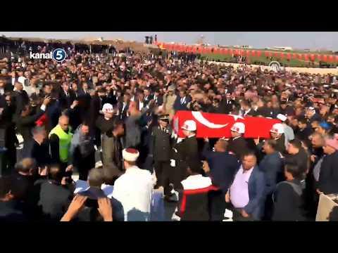 Ağrı Doğubeyazıt'da Şehid olan Pyd. Onbaşı Ali Aydar'ın Şanlıurfa'da Cenaze Töreni düzenleniyor