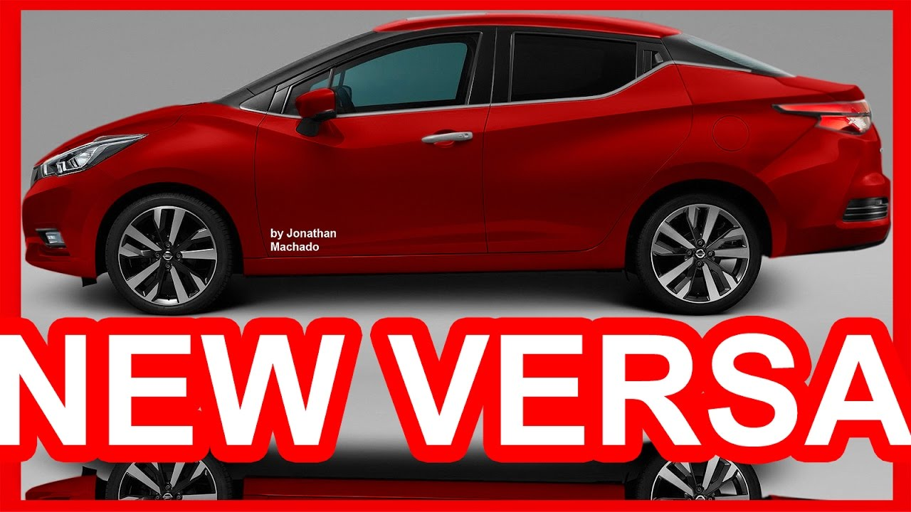 Nissan March Tuning >> PHOTOSHOP All-New 2019 Nissan Versa @ Almera Sunny March Micra Sedan #NISSAN - YouTube
