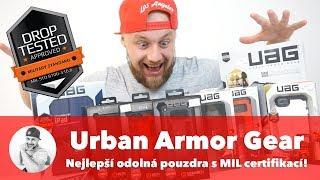 🛡 Odolné kryty a pouzdra Urban Armor Gear aka UAG... !!! 🛡 (WRTech Brands #1)