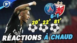 Neymar raconte sa folle soirée (PSG 6-1 Étoile Rouge de Belgrade)