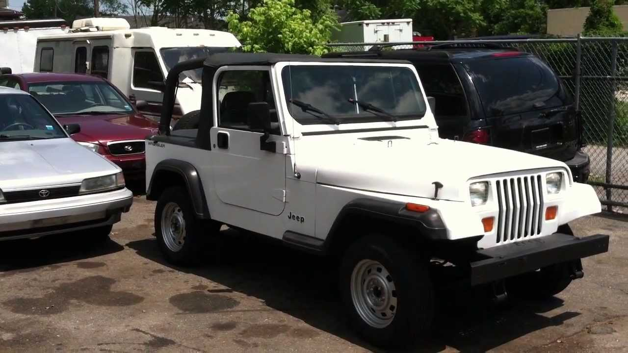 Look At A 1994 Jeep Wrangler