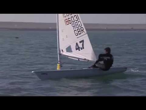 Laser Sailing Top Tips - Leeward mark rounding -  Double Olympic Gold Medallist Shirley Robertson