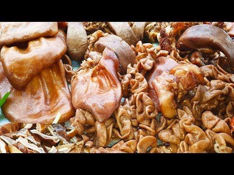 Wow, Chop Chop Meat, Amazing Street Chopped Meat, Cambodian Street Food
