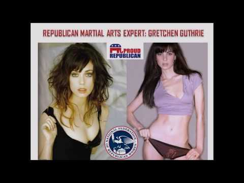 Republican Women's Self Defense Against Democrat Thugs. Feat. Gretchen Guthrie