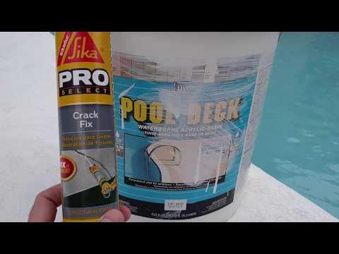 Pool Deck Crack Repair Explained (No Demo)