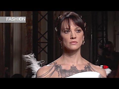 ANTONIO GRIMALDI Haute Couture Spring 2019 Paris - Fashion Channel
